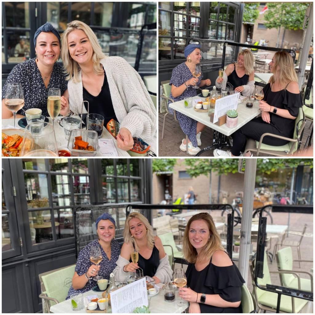 Lunchen met vriendinnen